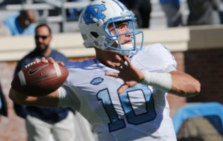 Mitchell Trubisky looks to be the first quarterback off the board in April's NFL Draft